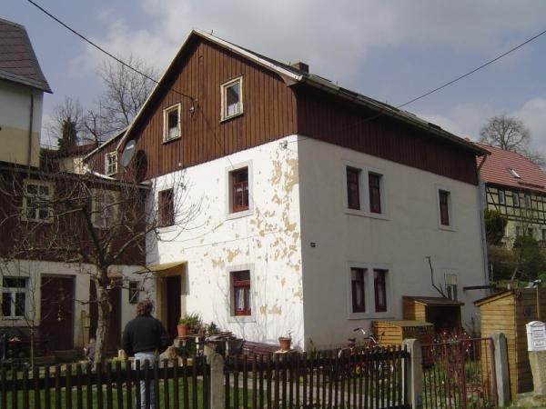 Privatbauherr  Goßdorf, Hohnstein vorher
